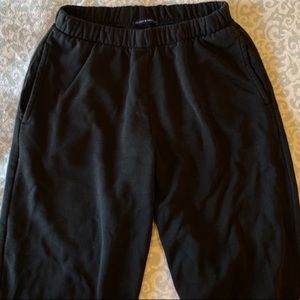 NEVER WORN BLACK JOGGERS FROM BRANDY MELVILLE